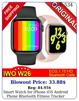 smart watch iphone ios android phone bluetooth fitness tracker waterproo