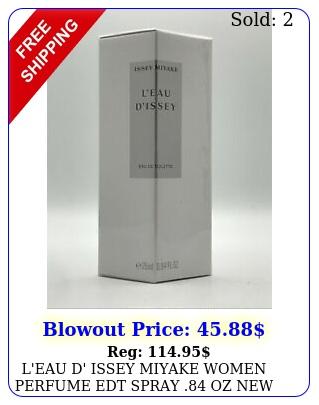 l'eau d' issey miyake women perfume edt spray oz i