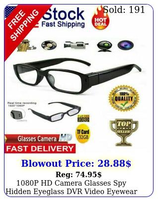 p hd camera glasses spy hidden eyeglass dvr video eyewear recorder nvr g