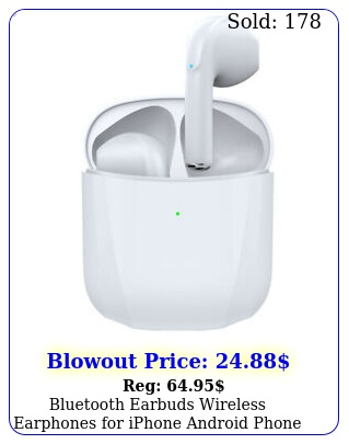bluetooth earbuds wireless earphones iphone android phone noise cancellatio