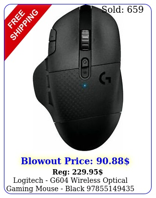 logitech g wireless optical gaming mouse blac