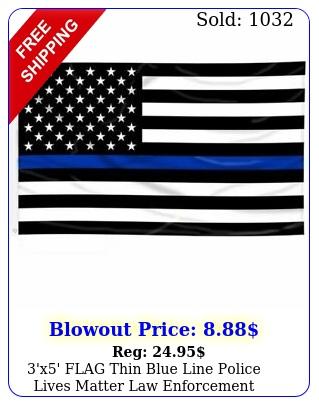 'x' flag thin blue line police lives matter law enforcement american us us