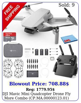dji mavic mini quadcopter drone fly more combo cpma gb car