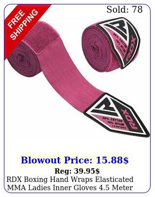 rdx boxing hand wraps elasticated mma ladies inner gloves meter bandages u