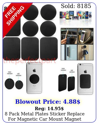 pack metal plates sticker replace magnetic car mount magnet phone holde