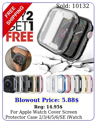 apple watch cover screen protector case se iwatch m