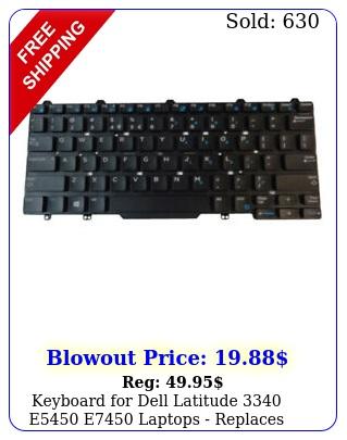 keyboard dell latitude e e laptops replaces