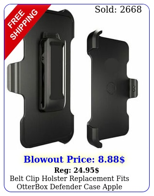 belt clip holster replacement fits otterbox defender case apple iphone x