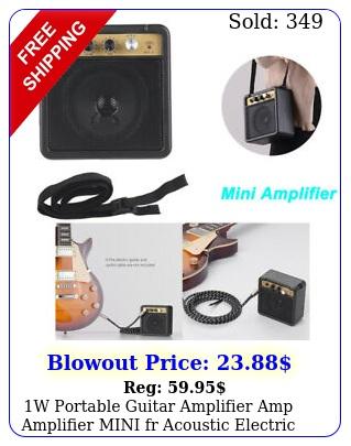 w portable guitar amplifier amp amplifier mini fr acoustic electric guitar bas