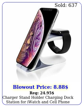 charger stand holder charging dock station iwatch cell phone tablet u