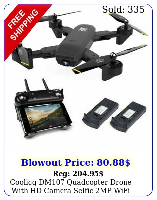 cooligg dm quadcopter drone with hd camera selfie mp wifi fpv foldable r