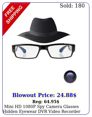 mini hd p spy camera glasses hidden eyewear dvr video recorder camera te