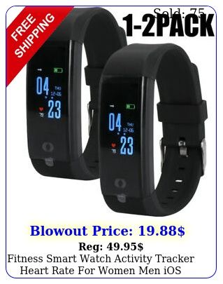 fitness smart watch activity tracker heart rate women men ios android iphon