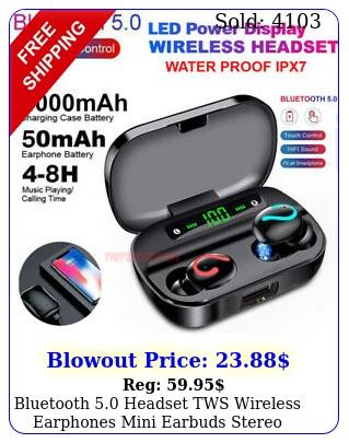 bluetooth headset tws wireless earphones mini earbuds stereo headphones ip