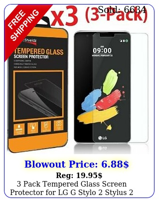 pack tempered glass screen protector lg g stylo  stylus  l