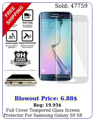 full cover tempered glass screen protector samsung galaxy s s s edge plu