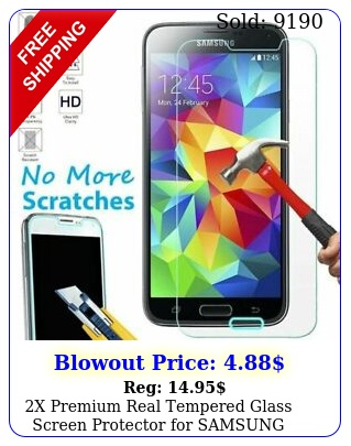 x premium real tempered glass screen protector samsung galaxy s