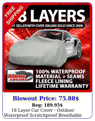 layer car cover outdoor waterproof scratchproof breathabl