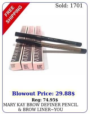 mary kay brow definer pencil brow lineryou choosepencileyebrow liner