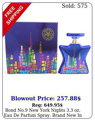 bond no york nights oz eau de parfum spray brand in retai