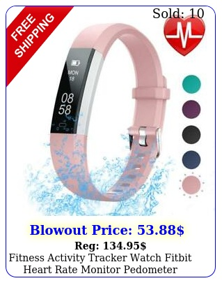 fitness activity tracker watch fitbit heart rate monitor pedometer android io