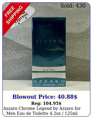 azzaro chrome legend by azzaro men eau de toilette oz ml i