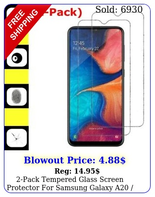 pack tempered glass screen protector samsung galaxy a a