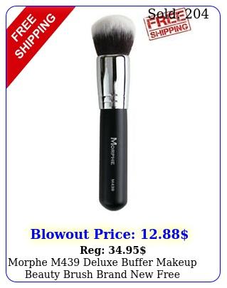 morphe m deluxe buffer makeup beauty brush brand free shippin