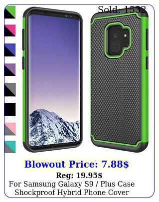 samsung galaxy s plus case shockproof hybrid phone cover screen protecto
