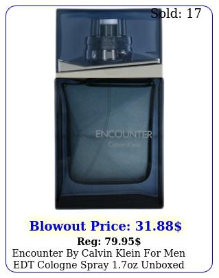 encounter by calvin klein men edt cologne spray oz unboxed ne