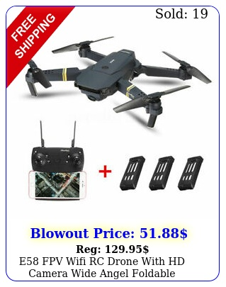e fpv wifi rc drone with hd camera wide angel foldable quadcopter selfie toy