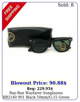 rayban wayfarer sunglasses rb black mmg green len