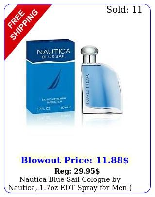 nautica blue sail cologne by nautica oz edt spray men dente