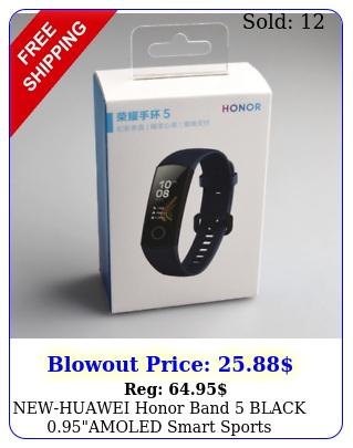 newhuawei honor band black amoled smart sports wristwatc