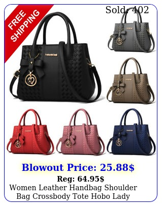 women leather handbag shoulder bag crossbody tote hobo lady messenger satche