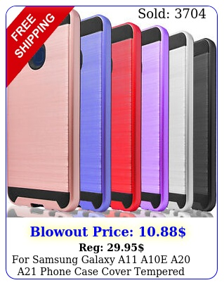 samsung galaxy a ae a a phone case cover  tempered glass protecto