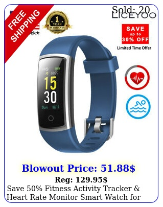 save fitness activity tracker heart rate monitor smart watch men wome