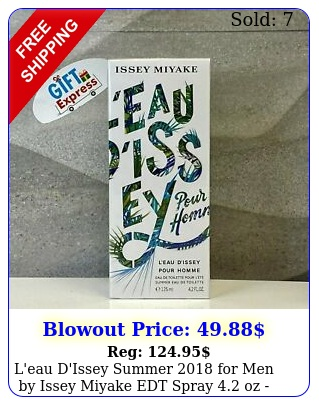 l'eau d'issey summer men by issey miyake edt spray oz i