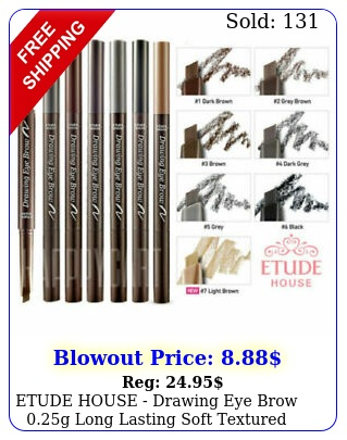 etude house drawing eye brow g long lasting soft textured us selle