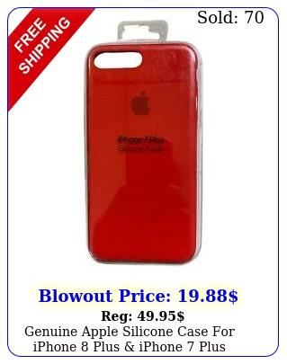 genuine apple silicone case iphone plus iphone plus inch re