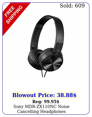 sony mdrzxnc noise cancelling headphone
