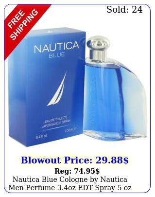 nautica blue cologne by nautica men perfume oz edt spray oz deodorant spra