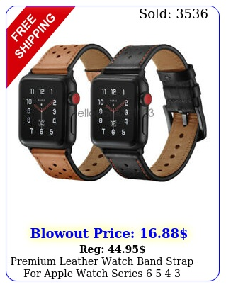 premium leather watch band strap apple watch series   mm mm m