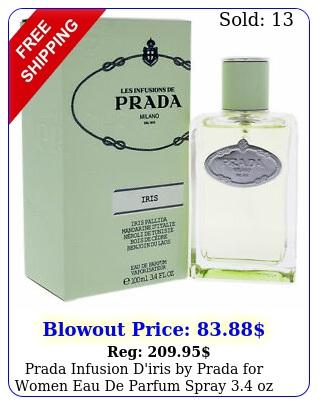 prada infusion d'iris by prada women eau de parfum spray oz i