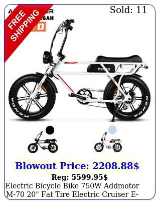 electric bicycle bike w addmotor m fat tire electric cruiser ebik