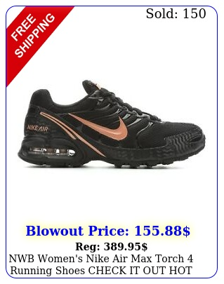 nwb women's nike air max torch running shoes check it out hot color