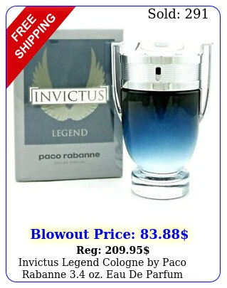 invictus legend cologne by paco rabanne oz eau de parfum spray me