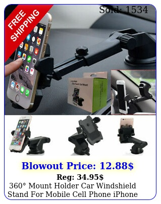 mount holder car windshield stand mobile cell phone iphone samsung gp