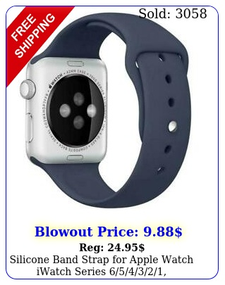 silicone band strap apple watch iwatch series mm s