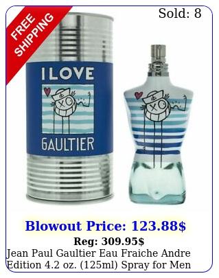 jean paul gaultier eau fraiche andre edition oz ml spray me